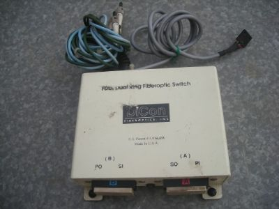 DICON  FIBEROPTIC  SWITCH