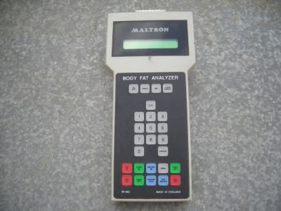 ציוד  רפואי  maltron  body  fat  analyzer