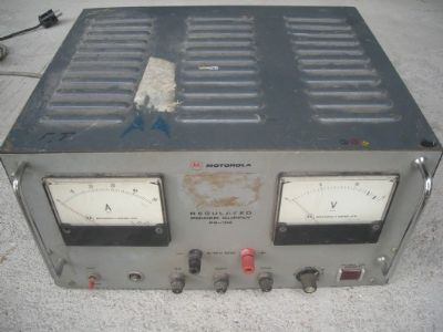 ספק  6-12v  20a   motorola  regulated  ps-102