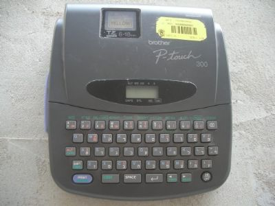 מדפסת   brother  p-touch  300