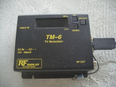 רכיבים   rf  tm - 6  tv  modulator