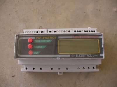 רכיבים  vip  energy  elcontrol  3-phase  analyzer