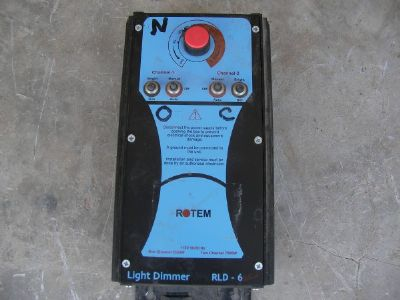 בקר   rotem  light  dimmer  rld-6