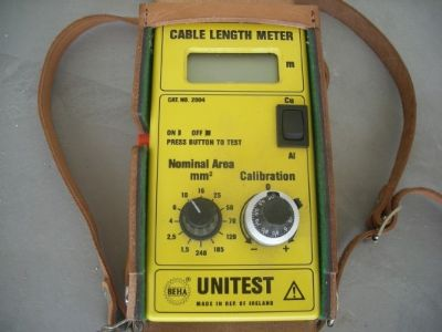 "צב""ד  חשמל   unitest  cable  length  meter"