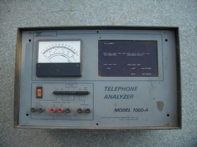 telephone  analyzer  1080a
